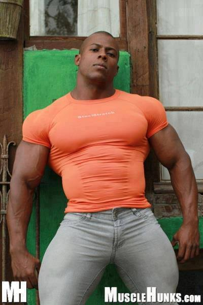 Big black muscle