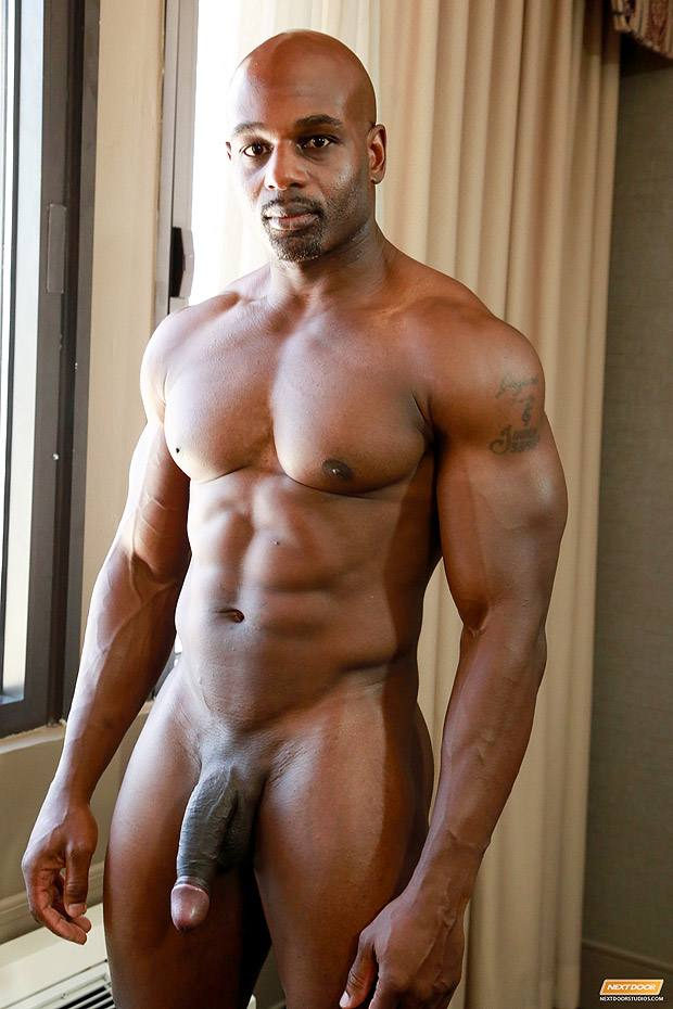 Big Black Muscle Cock