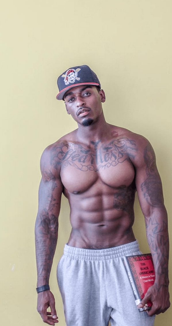 Huge Black Men Muscle and Big Cock.