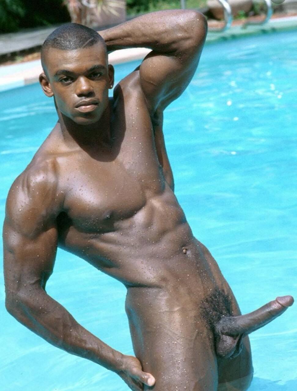 фото голых черных мужчин